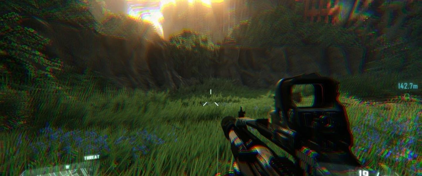 chromatic aberration in games
